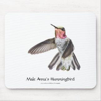 O colibri Mousepad de Anna masculina