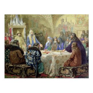 O começo da dissidência da igreja em Rússia Cartão Postal