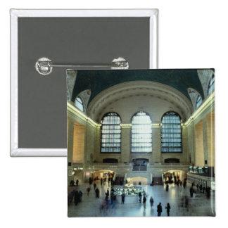 O Concourse principal (foto) Bóton Quadrado 5.08cm