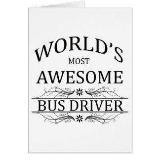 O condutor de autocarro o mais impressionante do m cartoes