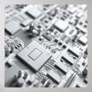 O conselho de circuito abstrato poster