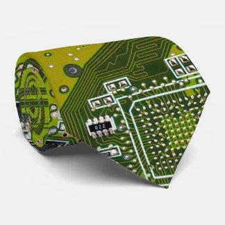 O conselho de circuito do geek do computador - gravata