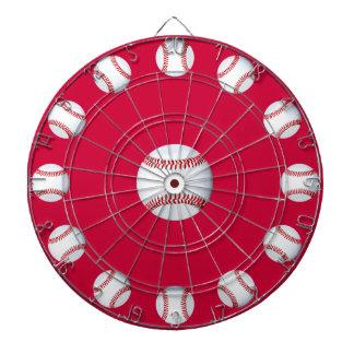 O conselho de dardo do Bullseye do basebol Jogo De Dardo
