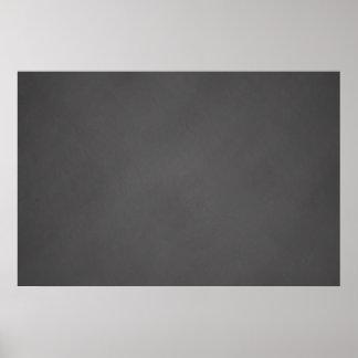 O conselho de giz cinzento do preto do fundo do pôster