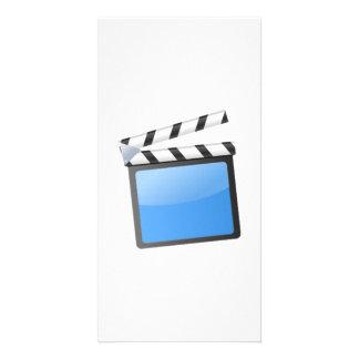 O conselho de válvula do filme cartao com foto personalizado