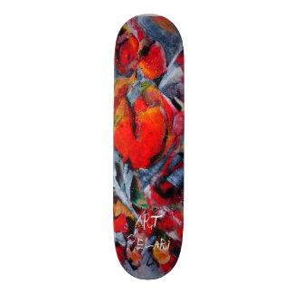 o conselho projetado do skate pela arte PeLari