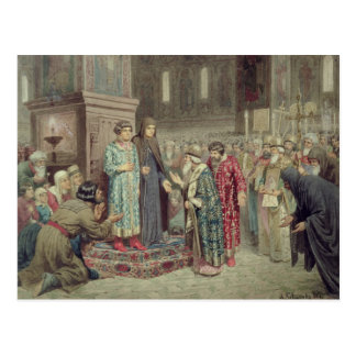 O Conselho que chama Michael F. Romanov ao Cartão Postal
