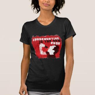 O conservador é o punk novo camisetas