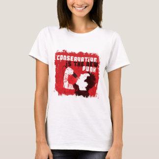 O conservador é o punk novo tshirt