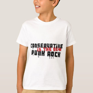 O conservador é o punk rock novo t-shirts