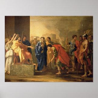 O Continence de Scipio, 1640 Poster
