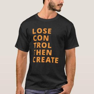 O controle do perder cria então o t-shirt de