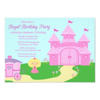 O convite de aniversário da menina doce da