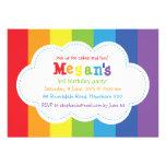O convite do arco-íris/arco-íris convida/colorido