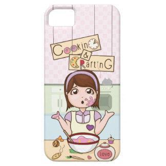 O CookingAndCrafting de YouTube Capa Barely There Para iPhone 5