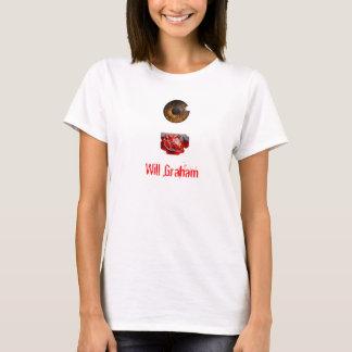 O coração do olho Graham Camiseta