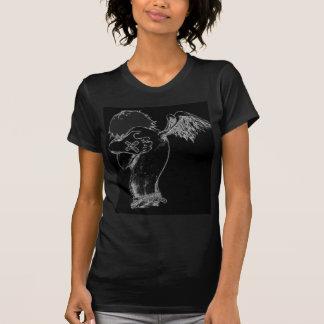 O coração é anjo enganador t-shirts