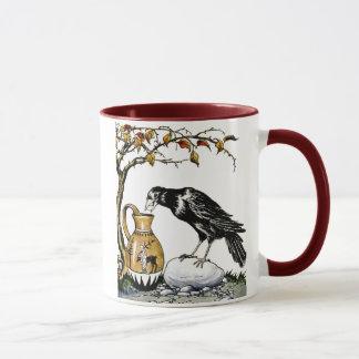 O corvo e a caneca do jarro