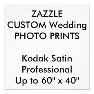 """O costume 24"""" do casamento x 24"""" foto profissional impressão de foto"""