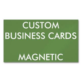O costume personalizou o vazio magnético dos cartão de visitas magnético