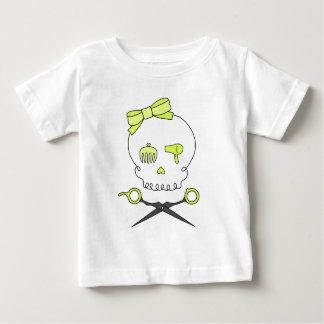 O crânio do cabeleireiro & Scissor Crossbones - Camiseta