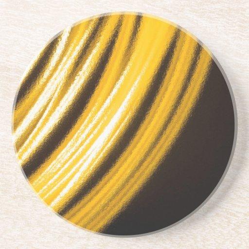 O cristal abstrato reflete pulseira porta-copos