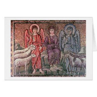 O cristo separa os carneiros das cabras, 6o CEN Cartão Comemorativo