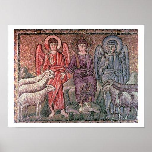 O cristo separa os carneiros das cabras, 6o CEN Poster