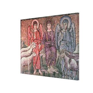 O cristo separa os carneiros das cabras, 6o CEN Impressão Em Tela Canvas