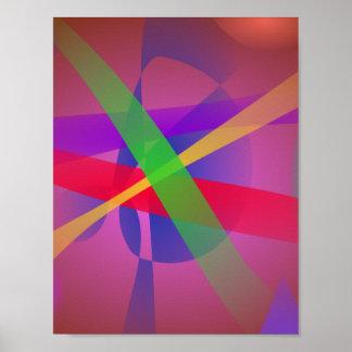 O cruzamento alinha a arte abstracta de Brown
