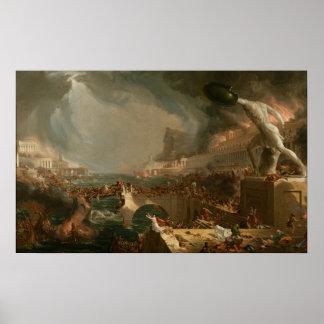 O curso do império: Destruição Posters