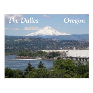 O Dalles, foto do viagem de Oregon Cartão Postal
