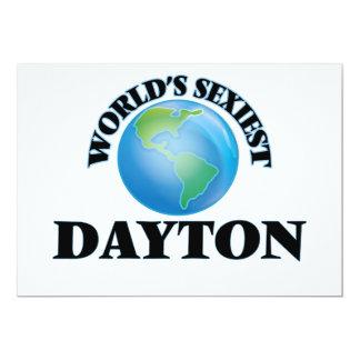 """O Dayton o mais """"sexy"""" do mundo Convite Personalizado"""