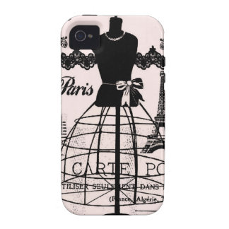 O desenhista feminino inspirou Paris Capa Para iPhone 4/4S