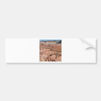 O deserto crava a cena adesivo para carro