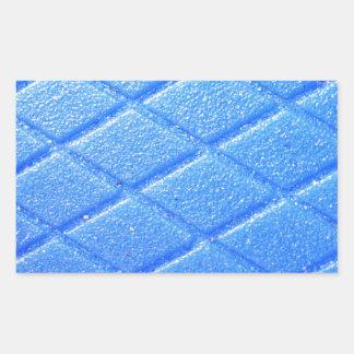O design da arte modela os azulejos clássicos adesivo retangular