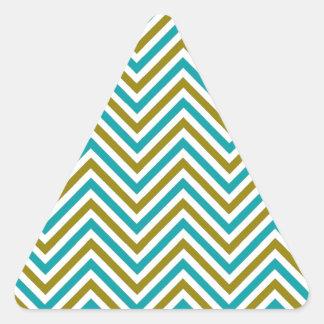 O design da arte modela os azulejos clássicos adesivo em forma de triângulo