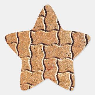 O design da arte modela os azulejos clássicos adesivo estrela
