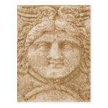 O deus grego Hermes REPRESENTA a imagem antiga de  Cartão Postal