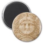 O deus grego Hermes REPRESENTA a imagem antiga de  Imã De Geladeira