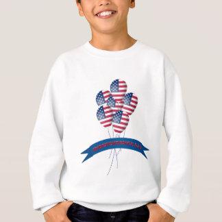 O Dia da Independência Balloons a camisola dos Tshirts