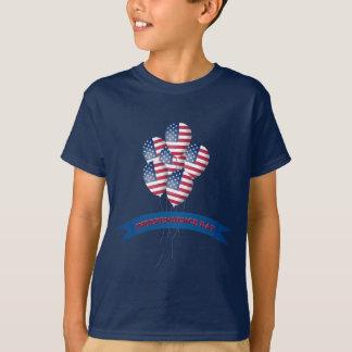 O Dia da Independência Balloons o t-shirt da