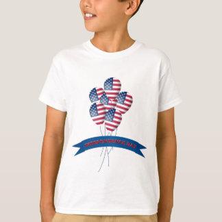 O Dia da Independência Balloons o t-shirt dos