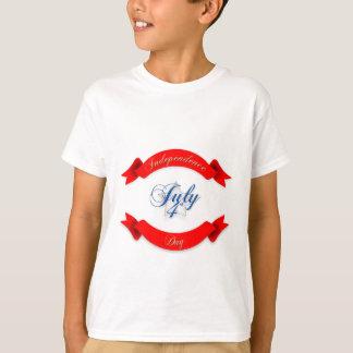 O Dia da Independência caçoa o t-shirt