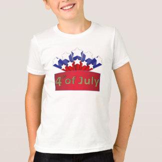 O Dia da Independência estrelado caçoa o t-shirt