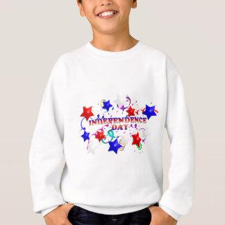 O Dia da Independência Stars a camisola dos miúdos T-shirts