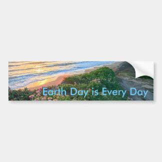 O Dia da Terra é cada dia Adesivos