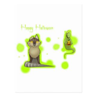 O Dia das Bruxas Cartões Postais