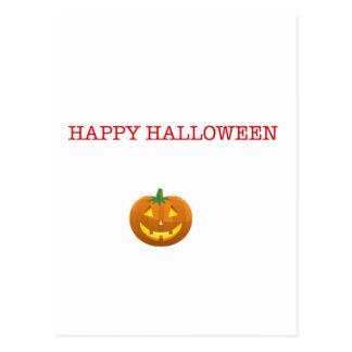 O Dia das Bruxas Cartão Postal