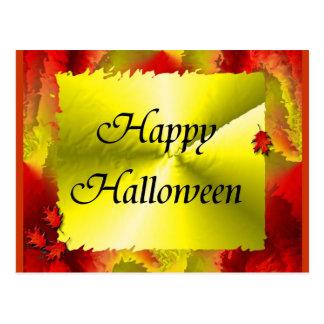 O Dia das Bruxas feliz Cartoes Postais